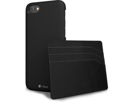 Capa I-PAINT Hard Card iPhone 7, 8 Preto — Compatibilidade: iPhone 7, 8