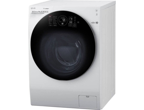 Máquina de Lavar Roupa LG TwinWash FH4G1BCS2 (12 kg - 1400 rpm - Branco)