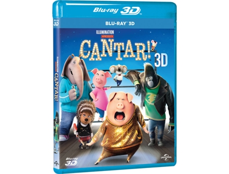 Blu-Ray 3D CANTAR! — Do realizador Garth Jennings