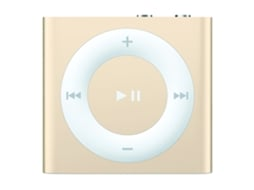 Leitor MP3 APPLE iPod Shuffle 2GB Gold — 2GB | USB