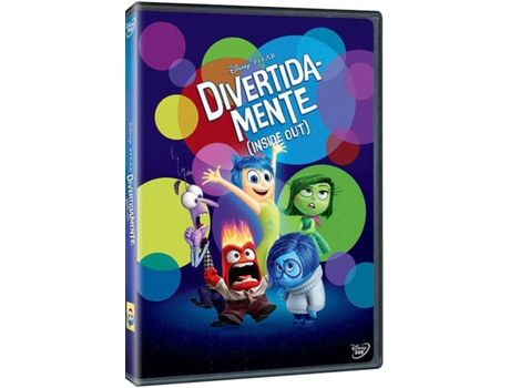 DVD Inside Out (Divertida-Mente) — Do realizador Pete Doctor