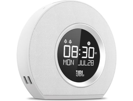 Rádio Despertador BT JBL Horizon White — Digital