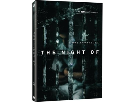 DVD The Night Of (Minisérie HBO)