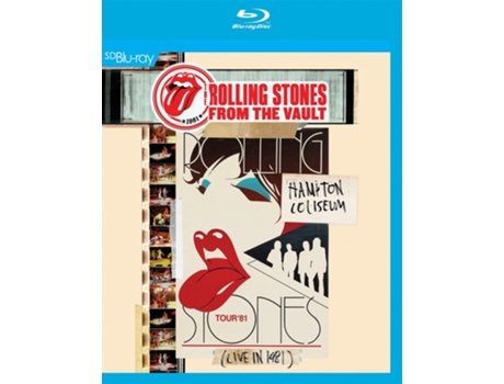 Blu-ray The Rolling Stones - Hampton Coliseum (Live In 1981)