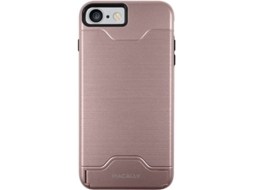 Capa MACALLY Stand iPhone 7 Rose — Compatibilidade: iPhone 7