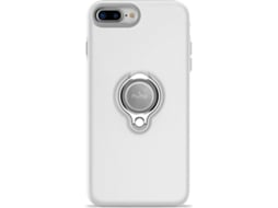 Capa PURO Magnet Ring iPhone 7 Plus, 8 Plus BRANCO — Compatibilidade: iPhone 7 Plus, 8 Plus