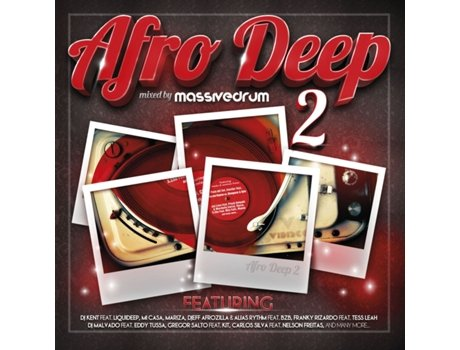 CD Vários-Afro Deep 2 - Mixed By Massivedrum — Música do Mundo