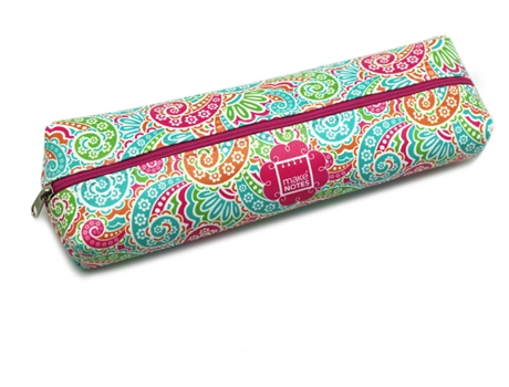 Estojo Retangular Grande MAKE NOTES Paisley One — Estojo / Multicor