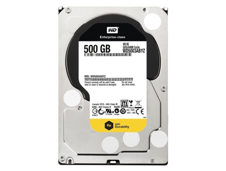 Disco Interno 3.5'' WD 500GB RE4 WD5003ABYZ — Interno / 3.5'' / 500GB