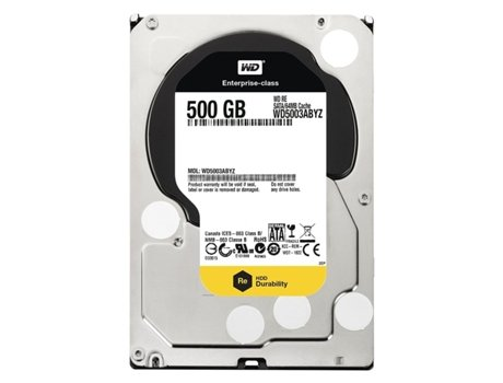 Disco Interno 3.5'' WD 500GB RE4 WD5003ABYZ — Interno | 3.5'' | 500GB