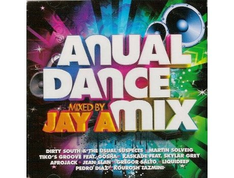CD Anual Dance Mix Mixed By Jay A — House / Electrónica