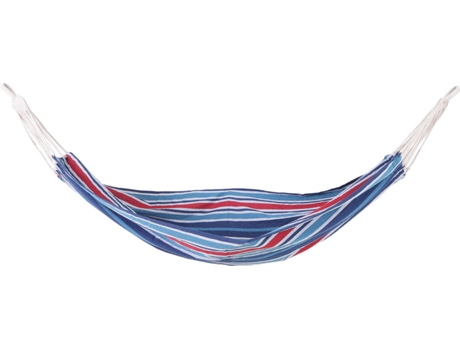 Rede de dormir para pendurar praia piscina jardim Camping 70% Algodão Azul Várias medidas e cores 210 x 150 cm