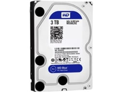 Disco Interno 3.5'' WESTERN DIGITAL 3TB Caviar Blue WD30EZRZ — 3.5'' / 3 TB / SATA3 6 Gb/s