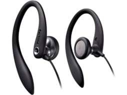 Auriculares com Fio PHILIPS SHS3300BK/10 (In Ear - Microfone - Preto)
