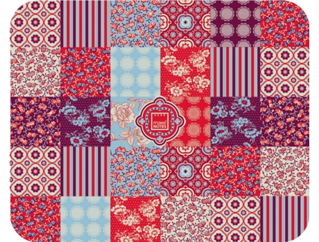 Tapete Rato MAKE NOTES Floral Quilt — Tapete de Rato