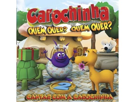 CD Cantar com a Carochinha Vol.2 — Infantil