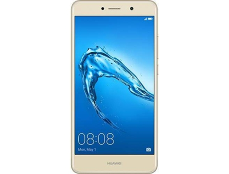 "Smartphone HUAWEI Y7 16GB 5.5' Gold — Android 7.0 / 4G / 5.5"" / MSM8940, Octa-Core 4x1.4Ghz"