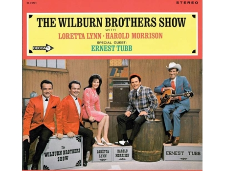 CD Wilburn Brothers/Lynn,Loretta/Morrison,Harold - The Wilburn Brothers Show (1CD)
