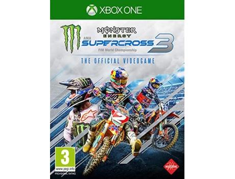 Jogo Xbox One Monster Energy Supercross 3