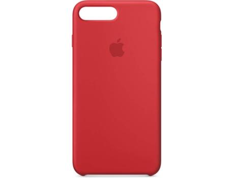 a72658aa9faa5 Capa APPLE iPhone 7 Plus, 8 Plus Silicone Vermelho   Worten.pt