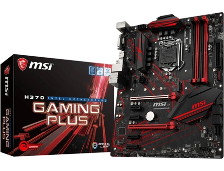 Motherboard MSI H370 Gaming Plus — LGA1151 | H370