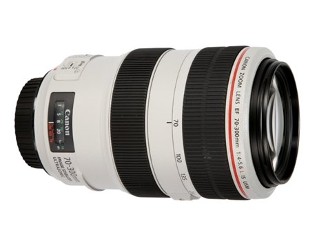 Objetiva CANON EF 70-300mm f/4-5.6L IS USM — Abertura: f/4-5.6