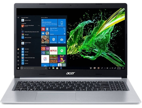 Portátil ACER Aspire 5 A515-54G-561F (15.6'' - Intel Core i5-10210U - RAM: 8 GB - 512 GB SSD - NVIDIA GeForce MX 250) — Windows 10 Home