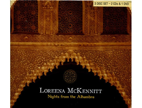 CD2 + DVD Loreena Mckennit — Alternativa/Indie/Folk