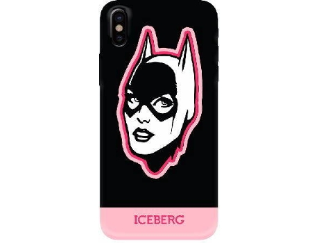 Capa ICEBERG Soft Catwoman iPhone 6, 6s, 7, 8 Rosa — Compatibilidade: iPhone 6, 6s, 7, 8
