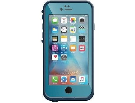 Capa OTTERBOX Lifeproof iPhone 6, 6s Azul — Compatibilidade: iPhone 6, 6s
