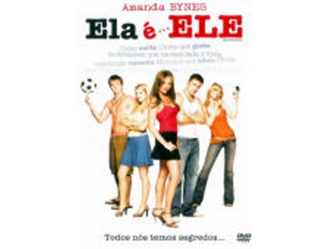 DVD Ela e Ele — De: Andy Fickman | Com: Amanda Bynes,Channing Tatum,Laura Ramsey,Vinnie Jones,Robert Hoffman,Alex Breckenridge,David Cross