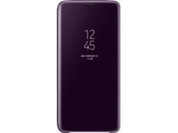 Capa SAMSUNG Clear View Galaxy S9+ Roxo — Compatibilidade: Samsung Galaxy S9+
