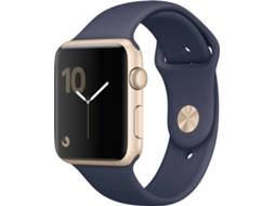 APPLE Watch Series 2 42mm Gold Aluminium Case Midnight Blue Band — iOS / 42 mm / Bluetooth 4.0 e Wi-fi