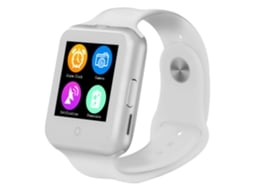 Smartwatch Branco D3 — Android / 380 mAH