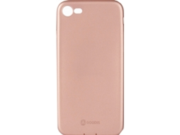 Capa GOODIS Smooth iPhone 7, 8 Rosa — Compatibilidade: iPhone 7, 8