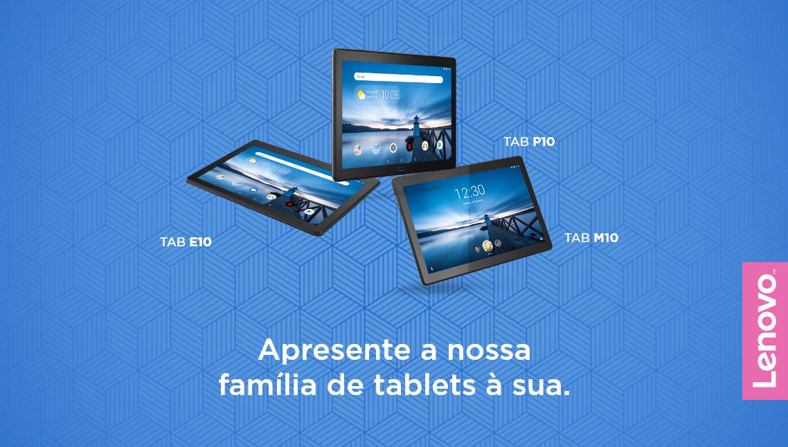 família tablets lenovo tab