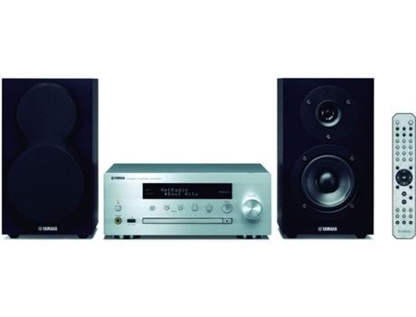 Aparelhagem Hi-fi Multiroom YAMAHA MCR-N470D SV/BK