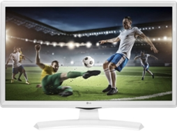 TV LED HD Ready 24'' LG 24MT49VW-WZ Branco — HD Ready / 50 Hz