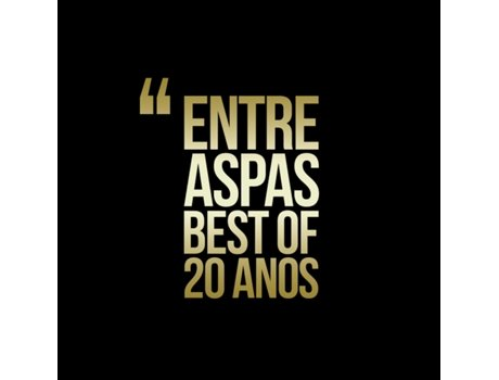 CD/DVD Entre Aspas - Best of - 20 Anos — Pop-Rock
