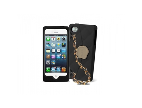 Capa SBS Les Cheries iPhone 5, 5s, SE Preto — Compatibilidade: iPhone 5, 5s, SE