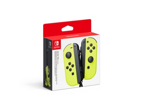 Comando JOY-CON NINTENDO(set Esq/Dir) Amarelo — Nintendo Switch