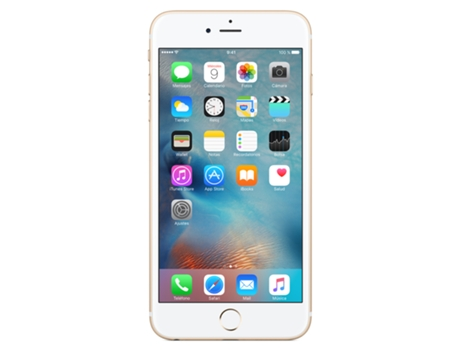 Smartphone APPLE iPhone 6s Plus 128GB Gold — iOS 9 / 5.5'' / 4G / Dual Core 1.84 GHz