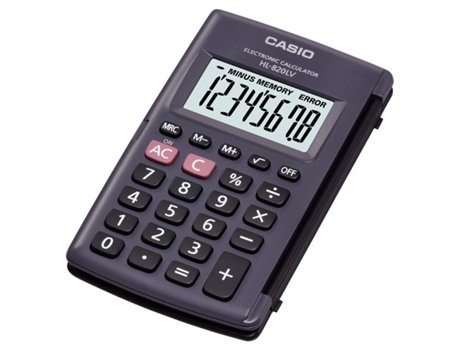 Calculadora Básica CASIO Hl 820 LV   [3011530 ]