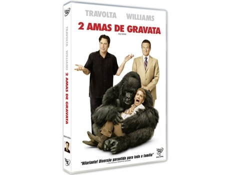 DVD 2 Amas de Gravata — De: Walt Becker | Com: John Travolta,Robin Williams,Kelly Preston,Conner Rayburn,Ella Bleu Travolta
