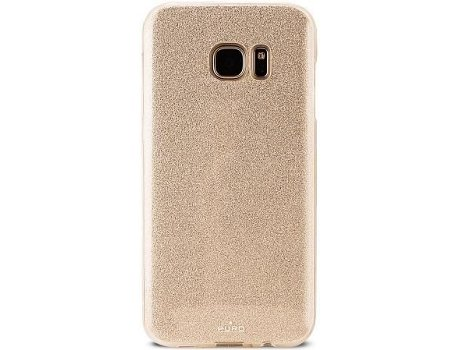 Capa PURO Shine Galaxy S7 Edge Gold — Compatibilidade: Galaxy S7 Edge