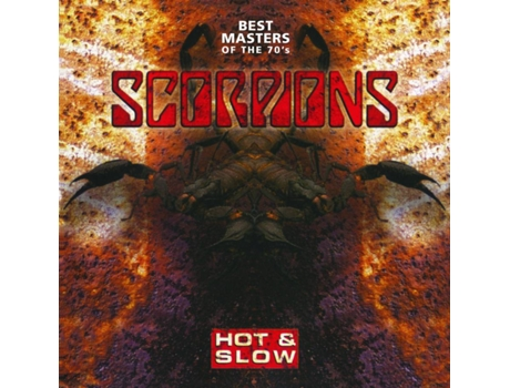 CD Scorpions - Hot & Slow: Best Masters Of The 70's — Pop-Rock