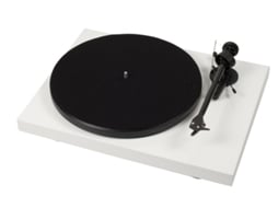 Gira-Discos PRO-JECT Debut Carbon Om10 W — Manual / Velocidade: 33/45