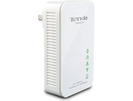 Powerline e Repetidor TENDA 300Mbps PW201A — 300Mbps