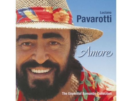 CD Luciano Pavarotti - Amore — Clássica