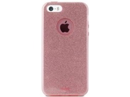 Capa PURO Shine iPhone 5, 5s, SE Rosa — Compatibilidade: iPhone 5, 5s, SE